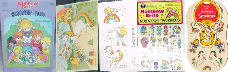 Amazon.com: Rainbow Brite: Rainbow Falls (Coloring Book with Foil